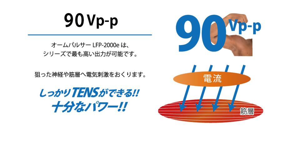90Vp-p